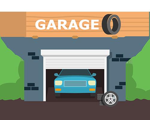 collecte huile garage